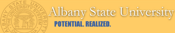 Image for link to Albany State University website.